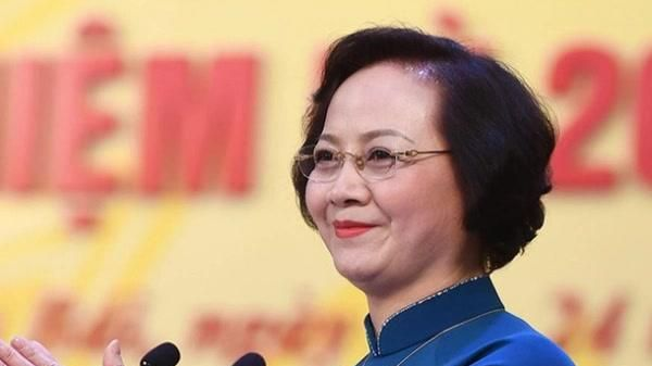 Bà Phạm Thị Thanh Trà giữ chức bộ trưởng Bộ Nội vụ