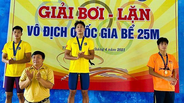 Quảng Ninh giành 3 huy chương tại Giải Bơi - Lặn VĐQG bể 25m-2021