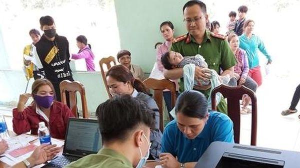 Đơn vị đầu tiên tại Quảng Nam hoàn thành cấp căn cước công dân