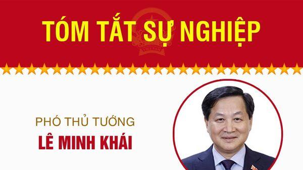 Infographic: Sự nghiệp Phó Thủ tướng Lê Minh Khái