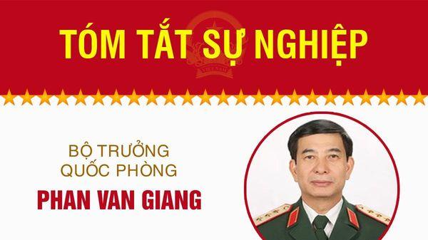 Infographic: Sự nghiệp Bộ trưởng Quốc phòng Phan Văn Giang