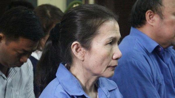 Đề nghị giám định huyết thống con một nữ bị cáo