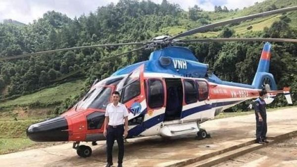 Lần đầu tiên có dịch vụ máy bay trực thăng ngắm đỉnh Fansipan