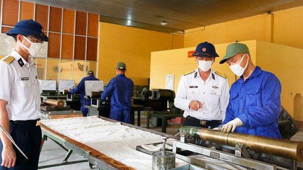 Kho 858 - Cục Kỹ thuật Hải quân: Nâng cao chất lượng công tác kỹ thuật