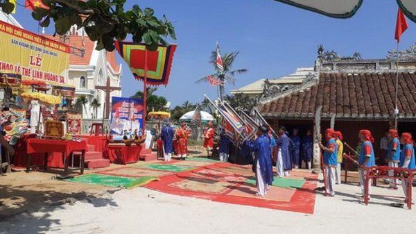 Lý Sơn tổ chức lễ Khao lề thế lính Hoàng Sa