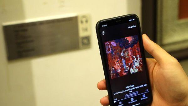 Bảo tàng Mỹ thuật ở VN ra mắt ứng dụng, tính phí 50.000 đồng/8h
