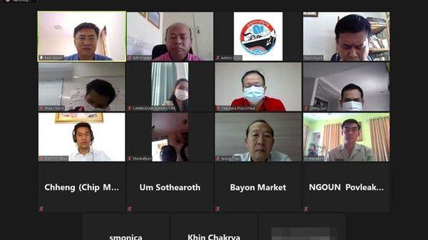 Campuchia lập chợ trực tuyến cho người dân bị phong tỏa vì Covid-19