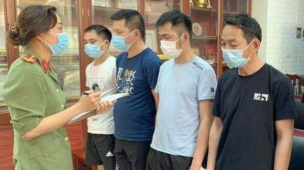 Bắt giam kẻ đưa 52 người Trung Quốc nhập cảnh trái phép tại Vĩnh Phúc