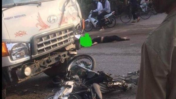 Tai nạn giao thông mới nhất hôm nay 4/5: Đấu đầu với xe tải, hai thanh niên đi xe máy tử vong tại chỗ