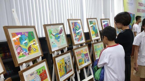 Phát động cuộc thi mỹ thuật cho thiếu nhi Việt Nam