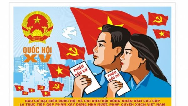 Thái Bình trao giải sáng tác tranh cổ động tuyên truyền bầu cử