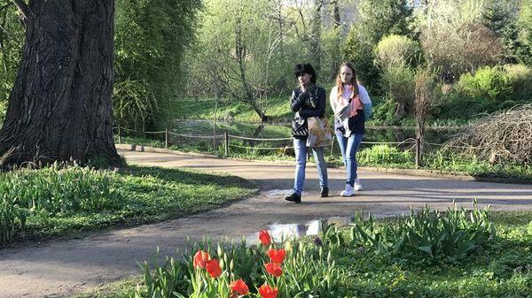 Khu vườn độc đáo ngay trong lòng Moscow