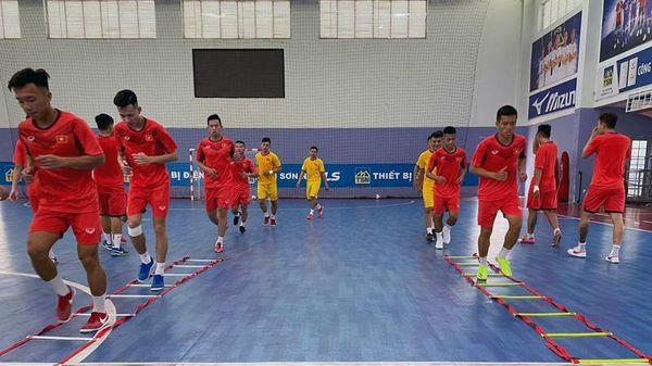 Đội tuyển Futsal Việt Nam hội quân với lực lượng mạnh nhất