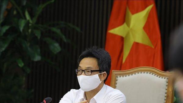 Phó Thủ tướng Vũ Đức Đam chủ trì cuộc họp đánh giá nguy cơ, mức độ lây nhiễm COVID-19