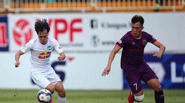 Vua phá lưới V.League 2021: Văn Toàn bắt kịp chân sút Nam Định