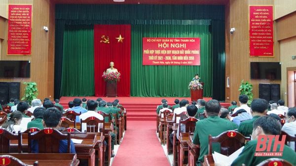 Hội nghị phối hợp quy hoạch đất quốc phòng của Bộ CHQS tỉnh