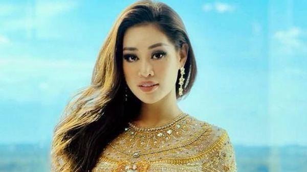 Hoa hậu Khánh Vân giấu chấn thương, xuất hiện vẫn lộng lẫy đầy năng lượng