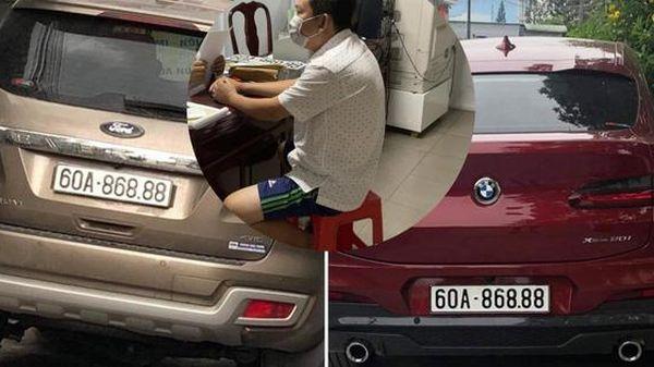 Sốc với lý do chủ xe xài biển số giả 'siêu đẹp' ở Đồng Nai