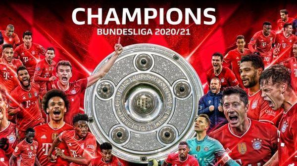Bayern Munich chính thức trở thành nhà vô địch Bundesliga 2020-2021