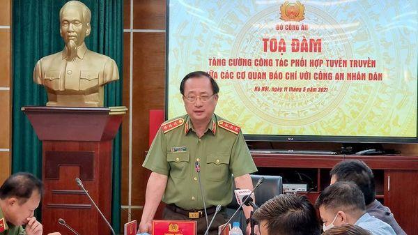 Bộ Công an tăng cường phối hợp thông tin, tuyên truyền với các cơ quan báo chí