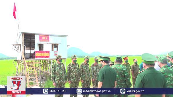 Quyết tâm kiểm soát chặt chẽ tuyến biên giới tỉnh An Giang