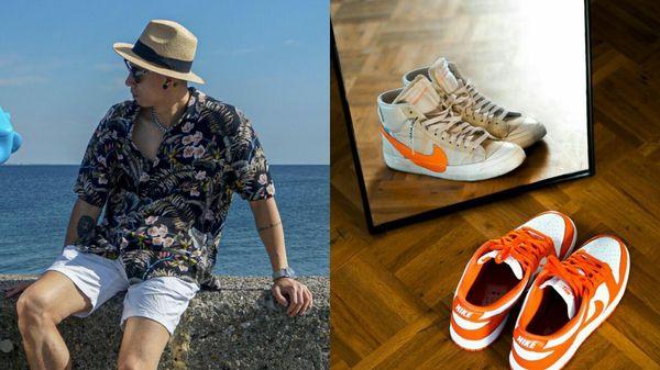 Nam giám đốc nghệ thuật có bộ sưu tập giày Nike ấn tượng