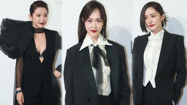 Dàn mỹ nhân C-biz đóng vest đi sự kiện: Lý Băng Băng lộ nội y, Dương Mịch 'mất điểm'