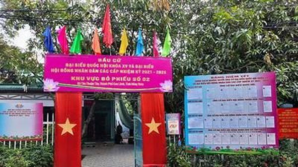 Bình Phước, Đồng Tháp: Công bố danh sách người trúng cử đại biểu Quốc hội khóa XV