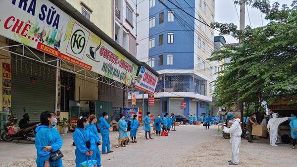 Bắc Giang: Dự kiến ngày mai (11/6) sẽ phun khử khuẩn làm sạch toàn bộ ổ dịch thôn Núi Hiểu