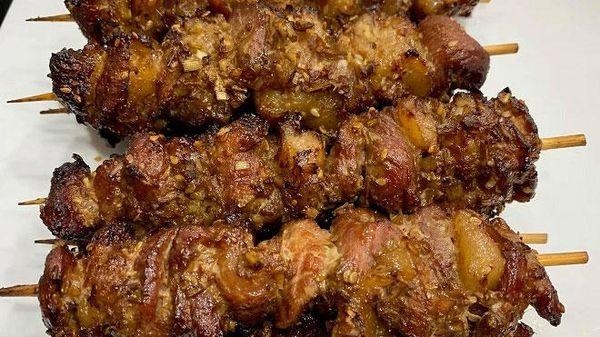 Thịt xiên nướng chuẩn ngon phải thêm loại nguyên liệu tưởng chẳng liên quan này