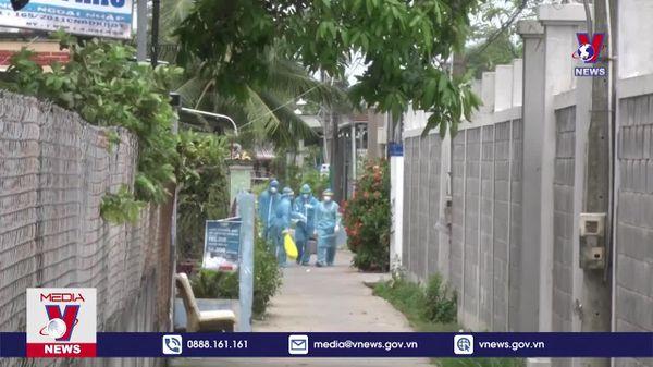 Long An phong tỏa 34 hộ dân ở thành phố Tân An