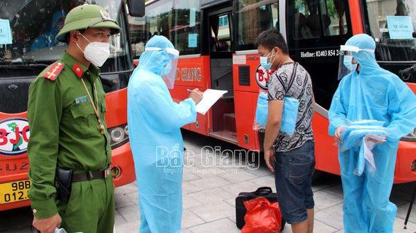 'Chia lửa' với Bắc Giang trong phòng, chống dịch, Lạng Sơn chủ động đón công nhân về địa phương