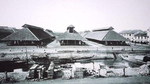 Lịch sử chợ Bến Thành từ lúc chỉ là bãi sình lầy hoang vắng