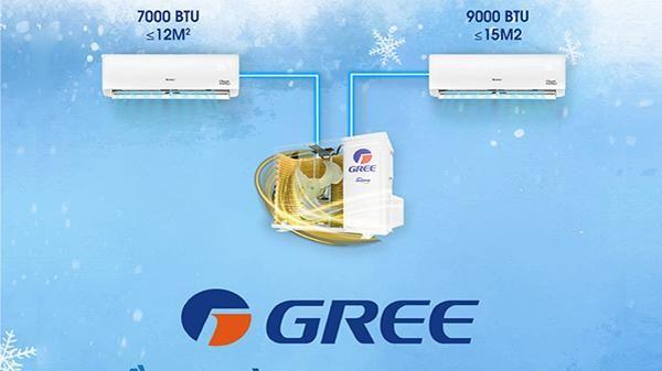 Điều hòa Gree Multi XS: Sự lựa chọn hoàn hảo cho căn hộ diện tích nhỏ