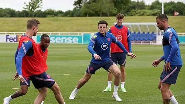 Maguire tập trở lại, sẵn sàng ra sân trận Anh vs Croatia