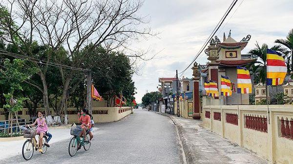 Vai trò đảng viên trong xây dựng nông thôn mới ở Nam Định
