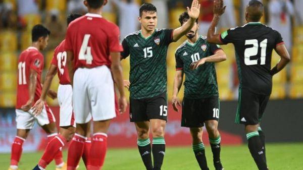 Vùi dập Indonesia, UAE tiếp tục 'thổi lửa' vào gáy tuyển Việt Nam