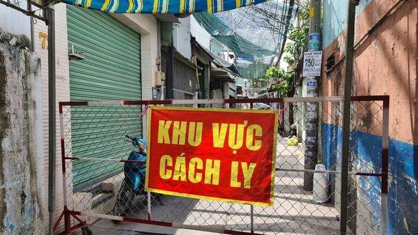 Phong tỏa ba khu phố ở quận Bình Tân, TP Hồ Chí Minh