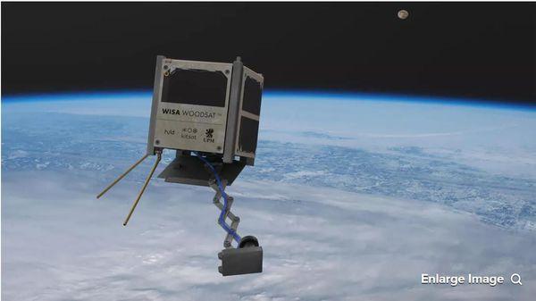 Vệ tinh bằng gỗ đầu tiên trên thế giới sớm sẽ được phóng vào không gian