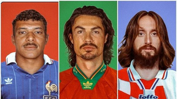 Ronaldo, Mbappe và dàn sao EURO gây cười cực mạnh với ngoại hình xưa cũ