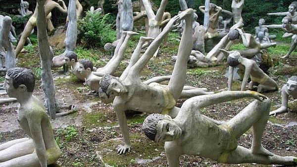 Khu rừng ma mị khiến ai bước vào cũng rợn tóc gáy