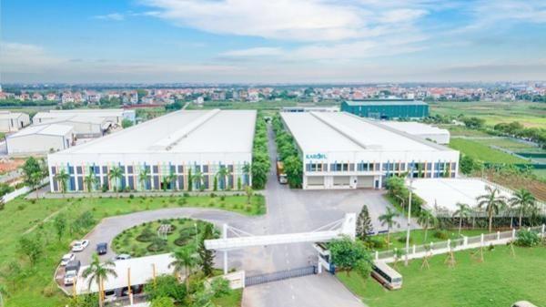 Công viên xanh trong nhà máy 40.000 m2 của Karofi