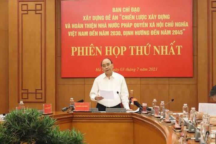 Chủ tịch nước: Hoàn thiện Nhà nước pháp quyền để phục vụ nhân dân - Báo Pháp Luật Việt Nam