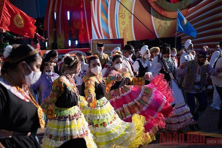 Đặc sắc lễ hội Văn hóa dân gian thế giới tại Liên bang Nga - Báo Nhân Dân