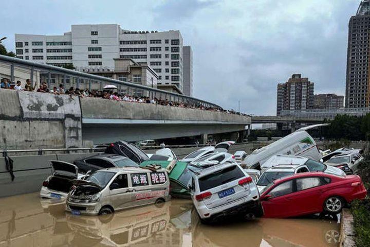 Mưa lớn 'nghìn năm có một' gây lụt lội kinh hoàng ở tỉnh Hà Nam, Trung Quốc - Báo An Ninh Thủ Đô