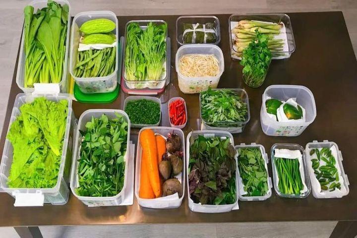 Mẹo giữ rau tươi xanh dù cất trữ trong tủ lạnh cả tuần - Báo Pháp Luật TP.HCM
