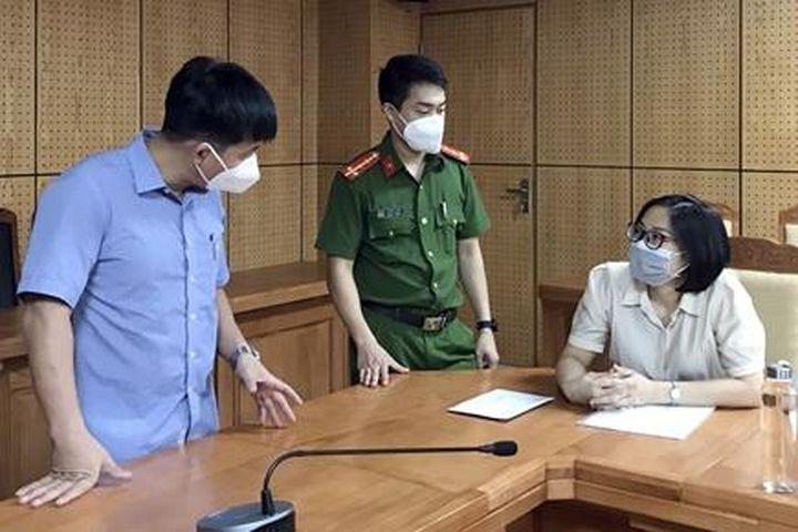 Khởi tố nữ cán bộ Cục Thuế tỉnh Bắc Giang - Zing - Tri thức trực tuyến