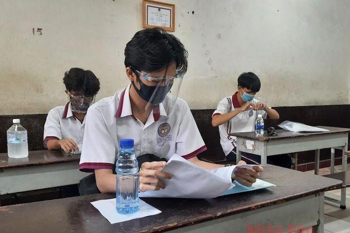 Thành phố Hồ Chí Minh: Đề xuất xét đặc cách tốt nghiệp cho hơn 3.000 thí sinh thi đợt 2 - Báo Nhân Dân