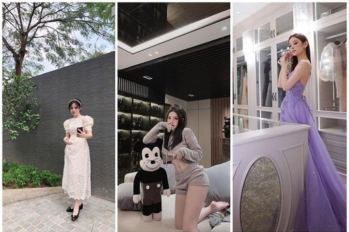 Đọ biệt thự sang chảnh của hot girl Việt đình đám - Báo Tri Thức & Cuộc Sống