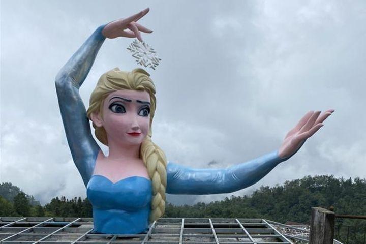 Tác giả bức tượng Elsa phiên bản 'đột biến': 'Những bình phẩm khen chê thì gửi cho tôi' - Báo Giáo Dục & Thời Đại